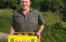 Fred Visser - Owner - Gwanzi Queens Pineapples